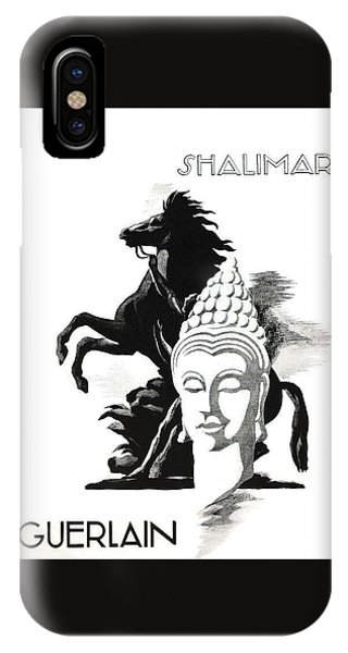 IPhone Case featuring the digital art Shalimar by ReInVintaged