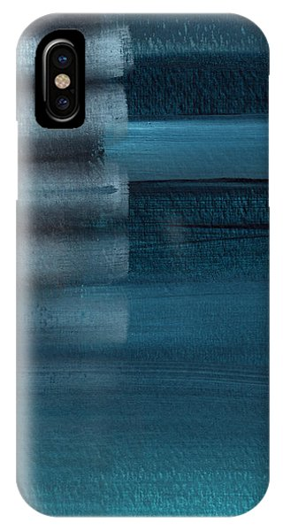 Shallow- Abstract Art By Linda Woods IPhone Case