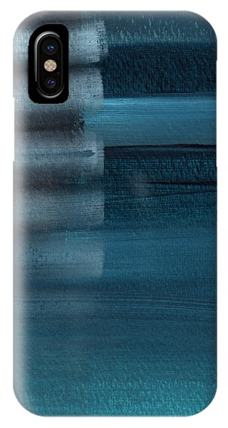 Simple iPhone Case - Shallow- Abstract Art By Linda Woods by Linda Woods