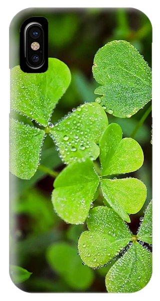 Shamrock Green IPhone Case