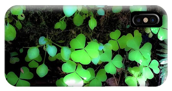 shamrocks #1A IPhone Case