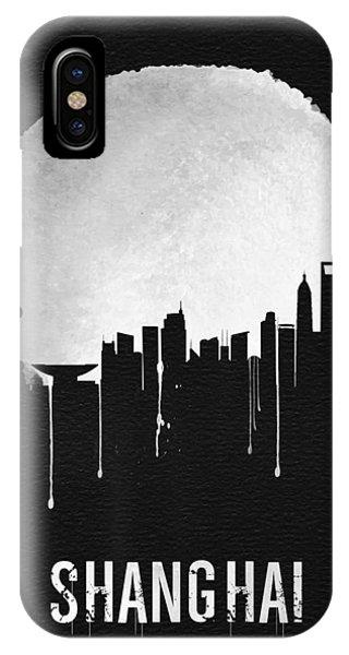 Chinese iPhone Case - Shanghai Skyline Black by Naxart Studio
