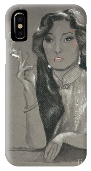Gong Li -- Chinese Film Star IPhone Case