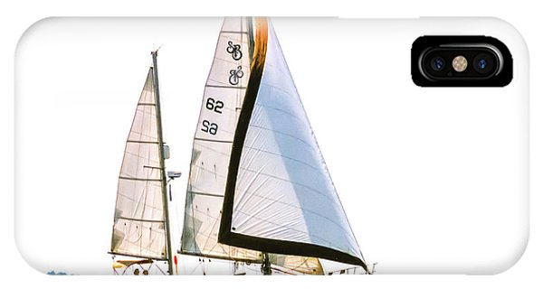 Shannon 38 Kittiwake On Chesapeake Bay IPhone Case
