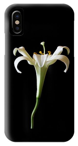 Close Up Floral iPhone Case - Shape For Me by Marina Kojukhova