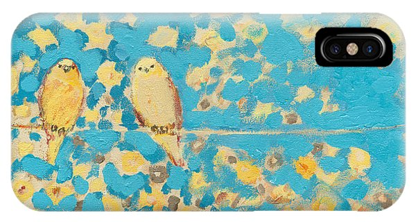 Impressionist iPhone Case - Sharing A Sunny Perch by Jennifer Lommers