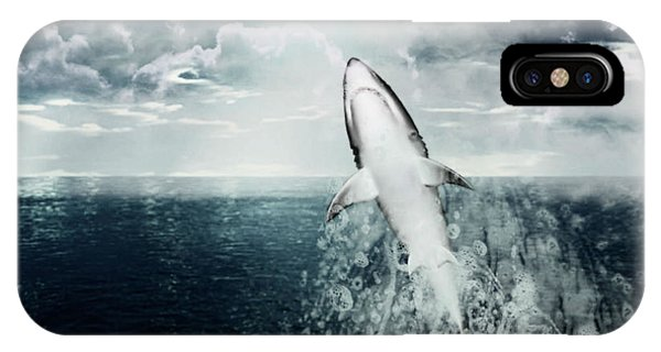 Shark Watch IPhone Case