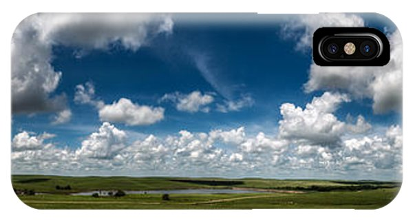Sharps Creek Road Panorama IPhone Case