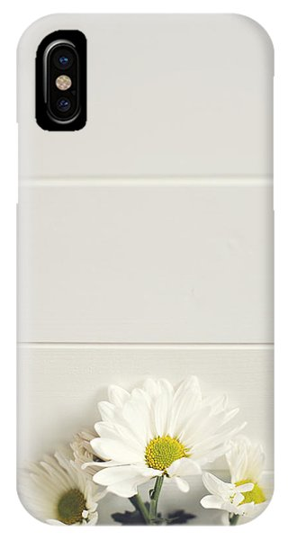 Shasta Daisies Cropped 1 IPhone Case