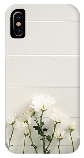 Shasta Daisies Cropped 2 IPhone Case