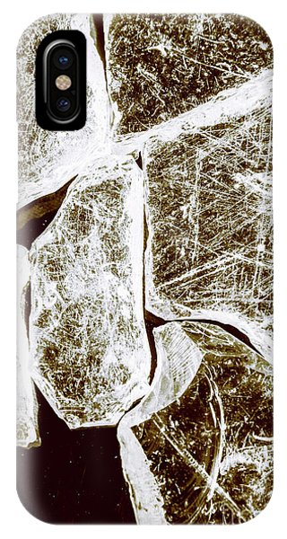 Damage iPhone Case - Shattering Shards by Jorgo Photography - Wall Art Gallery