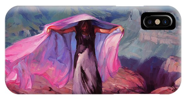 Figures iPhone Case - She Danced By The Light Of The Moon by Steve Henderson