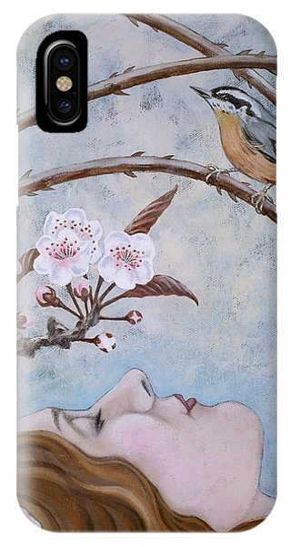 She Dreams The Spring IPhone Case