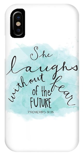 She Laughs IPhone Case