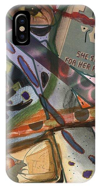 She iPhone Case - She Sings by David Jacobi