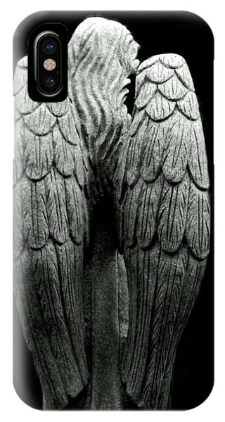 She Talks With Angels IPhone Case