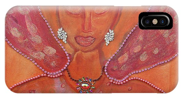 She Who Follows Her Heart Phone Case by Susan Risse