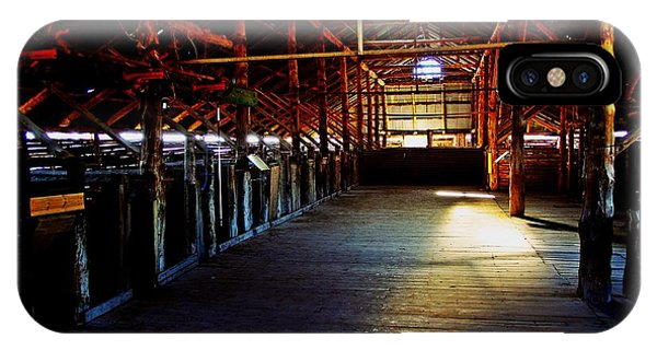 iPhone Case - Shearing Shed From A Bygone Era by Blair Stuart