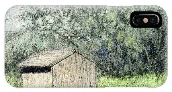 Shed In The Field IPhone Case