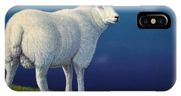 Sheep At The Edge IPhone Case
