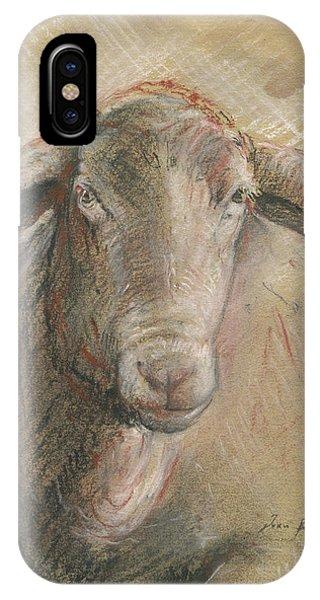 Sheep Head IPhone Case