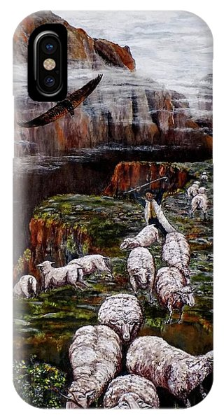Sheep In The Mountains  IPhone Case