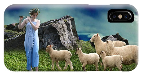 Sheep Whisperer IPhone Case