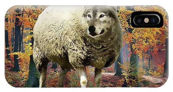 iPhone Case - Sheep's Clothing by Harry Warrick
