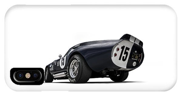 Car iPhone X Case - Shelby Daytona by Douglas Pittman