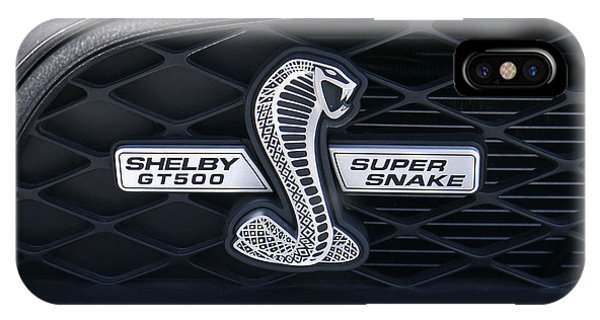 Snake iPhone Case - Shelby Gt 500 Super Snake by Mike McGlothlen