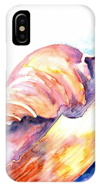 IPhone Case featuring the painting Shell Mouth by Ashley Kujan