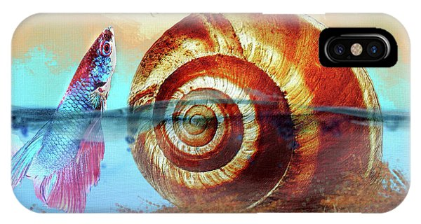 Shell Fish IPhone Case