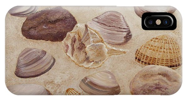 Shells And Stones IPhone Case