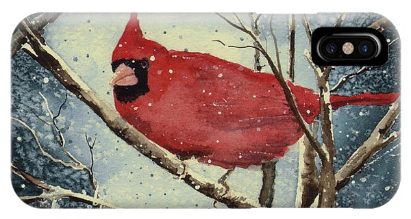 Shelly's Cardinal IPhone Case