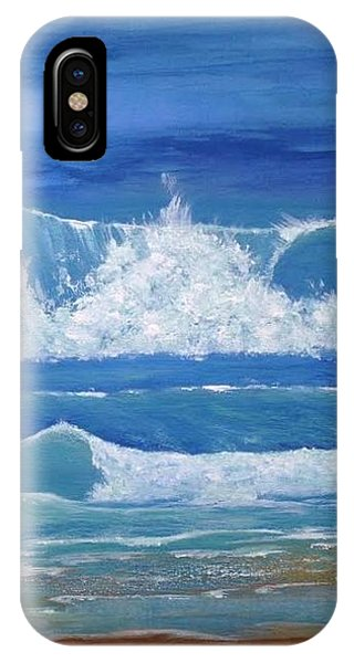Sheltered Waves IPhone Case