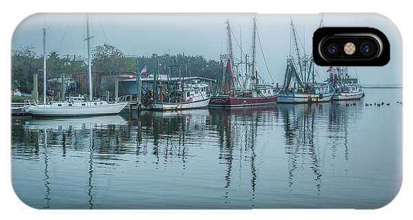 Shem Creek Fog IPhone Case