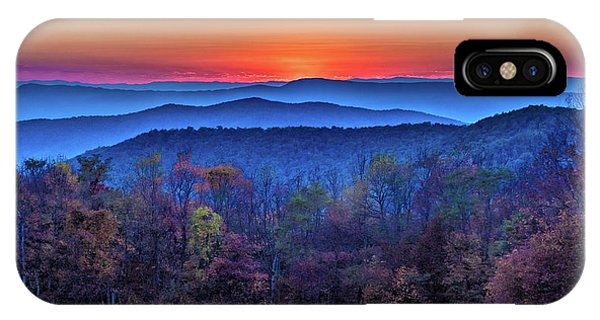 Shenandoah Valley Sunset IPhone Case