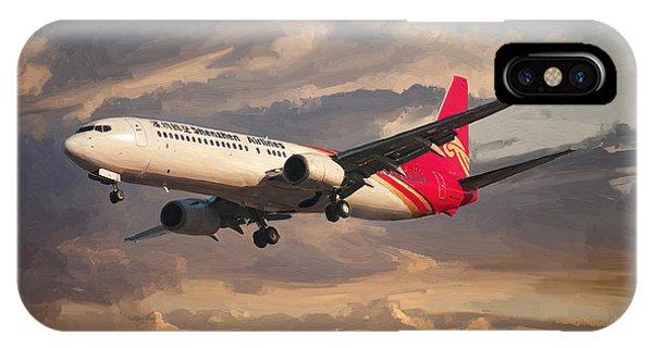 Shenzhen Airlines Boeing 737-900 Landing IPhone Case