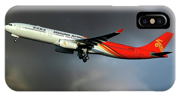 Airline iPhone Case - Shenzhen Airlines by Smart Aviation