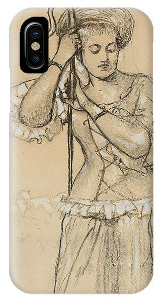 1877 iPhone Case - Shepherdess by Winslow Homer