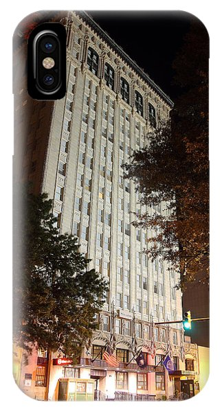 IPhone Case featuring the photograph Sheraton Hotel -- Columbia by Joseph C Hinson Photography