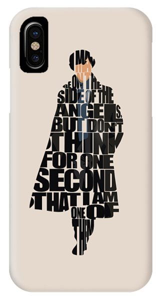 Sherlock - Benedict Cumberbatch IPhone Case