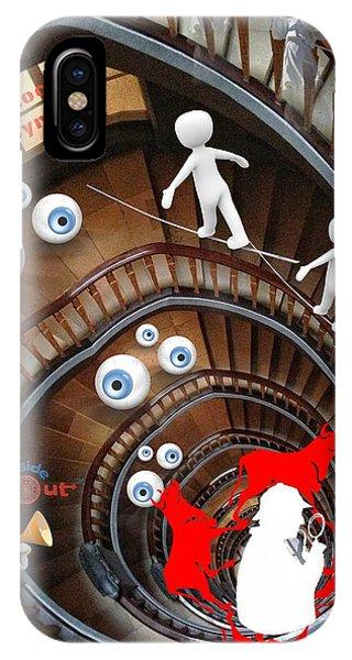 Sherlocks Labyrinth IPhone Case