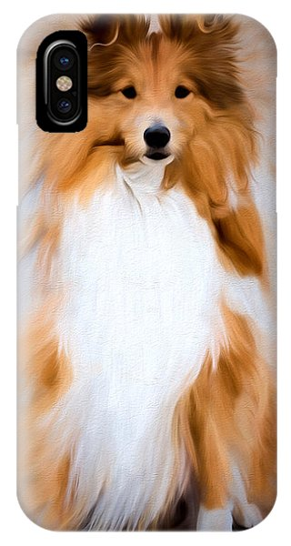 Shetland Sheepdog - Sheltie IPhone Case