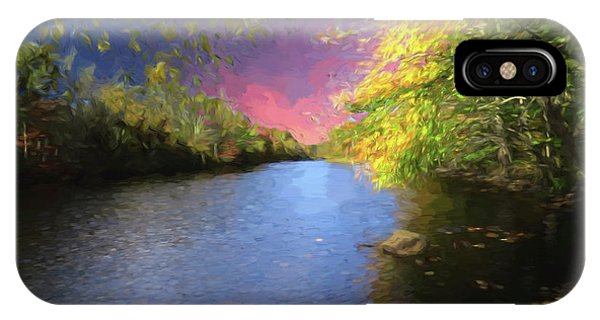 Shetucket River Ct. IPhone Case
