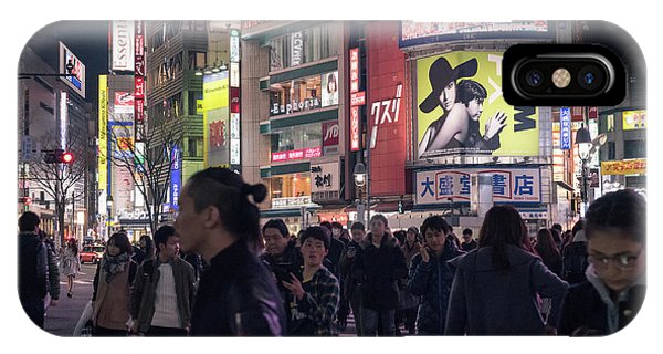 Shibuya Crossing, Tokyo Japan 3 IPhone Case
