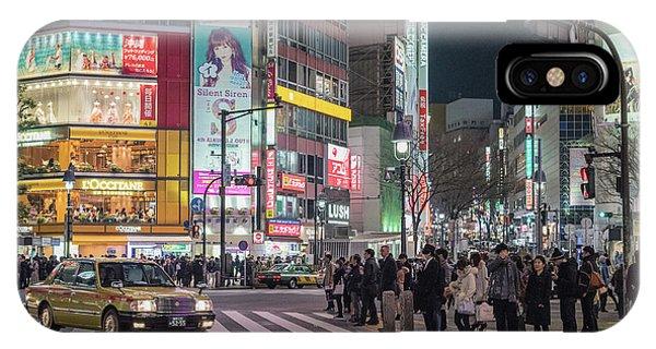 Shibuya Crossing, Tokyo Japan IPhone Case