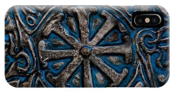 Timeworn iPhone Case - Shield Of Time by Venetta Archer
