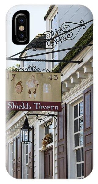 Shields Tavern Sign IPhone Case