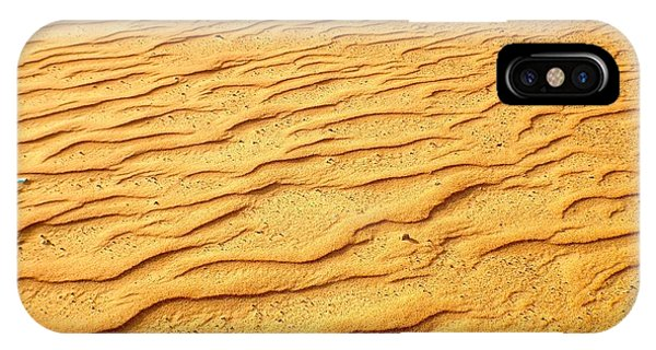 IPhone Case featuring the photograph Shifting Sands by Barbara Von Pagel